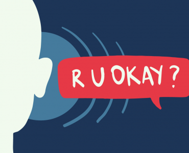 Are you okay in a speech bubble